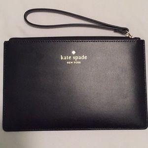 Kate Spade Eli Kearny Street Leather Wristlet $50!